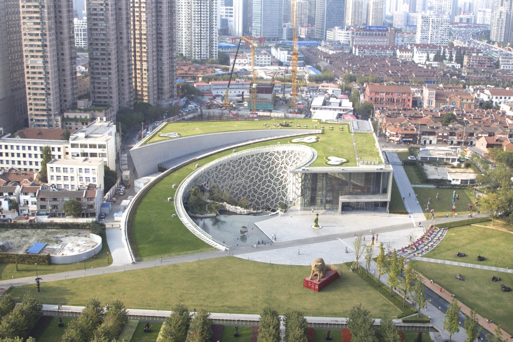 Project of Shanghai Natural History Museum for Roofs Waterproofing and Vegetative solutions | Projet de Shanghai Natural History Museum pour étanchéité de toiture et solution végétalisée