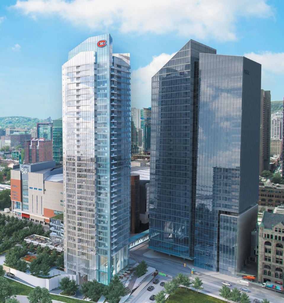 3D commercial buildings Montreal