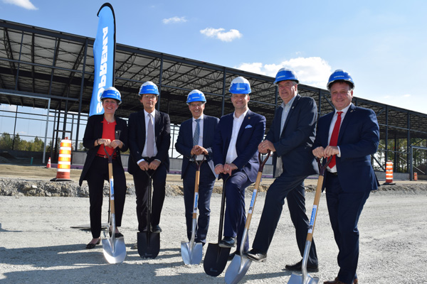SOPREMA Begins Construction of a Plant to Manufacture Extruded Polystyrene Thermal Insulation Panels in Sherbrooke