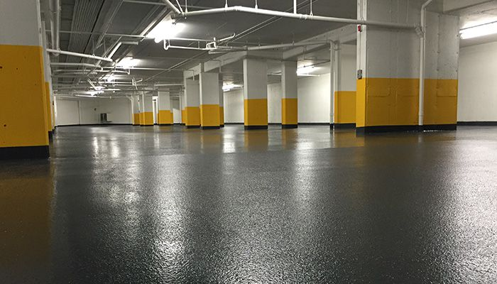 Parking Garage Flooring