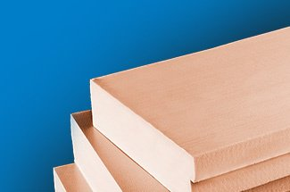 Image showing extruded polystyrene panels.