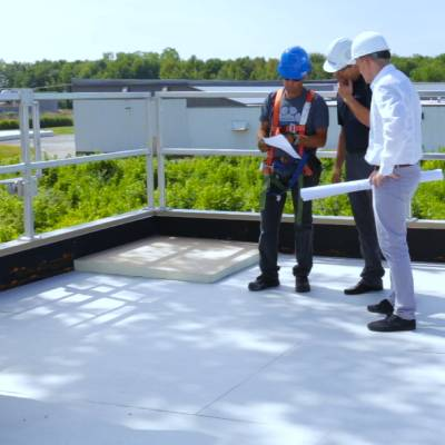 Slope Service for Commercial Roofing